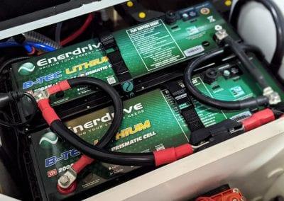 2x 200Ah Enerdrive Lithium Batteries2