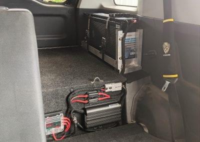 Custom Slimline Lithium Dual Battery System