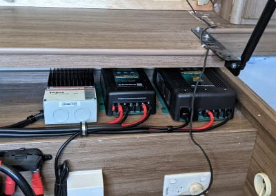 MorningStar TriStar Inverter, Enerdrive DC2DC Charger & Enerdrive 40A 240V Charger