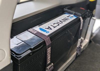 Slimline 100Ah Invicta Lithium Battery