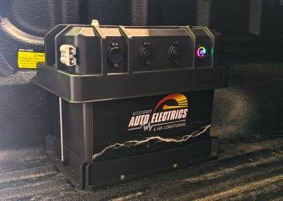Custom Portable Battery Box in Tub