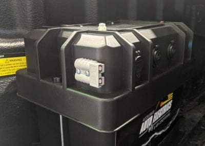 Side Anderson Plug Output