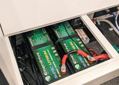 2x 200Ah Enerdrive Lithium Batteries