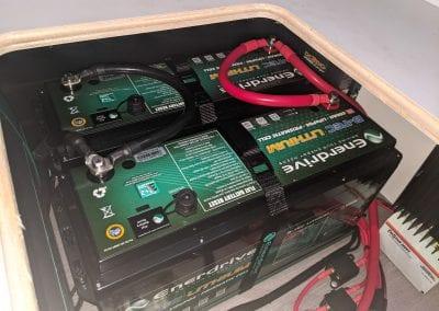 2x200Ah Enerdrive BTEC Batteries