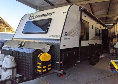 Crusader Caravan Enerdrive Lithium Battery System