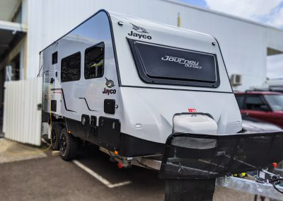 Jayco Journey Outback Caravan Off Grid Lithium Battery System