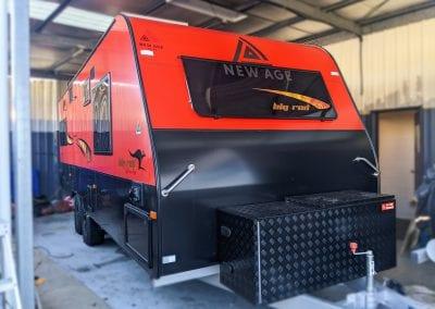 New Age Big Red Caravan Enerdrive Lithium Power System