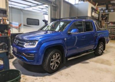 VW Amarok Lithium Dual Battery System and Cel-Fi Go