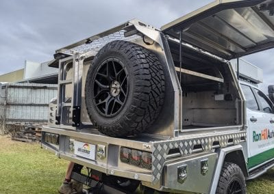 Rear of Norweld Compact Canopy
