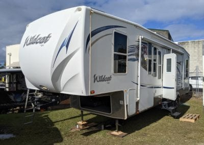 Wildcat 5th Wheeler Off-Grid Lithium Battery System