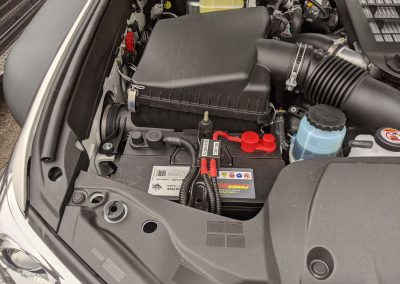 PowerSonic Deep Cycle Auxiliary Battery with Connections