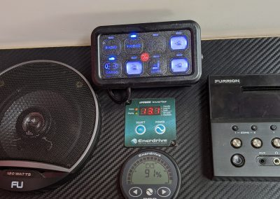 Enerdrive ePro Battery Monitor and Inverter Switch