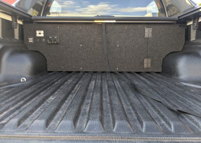 Rear Compartment for Dual Battery System
